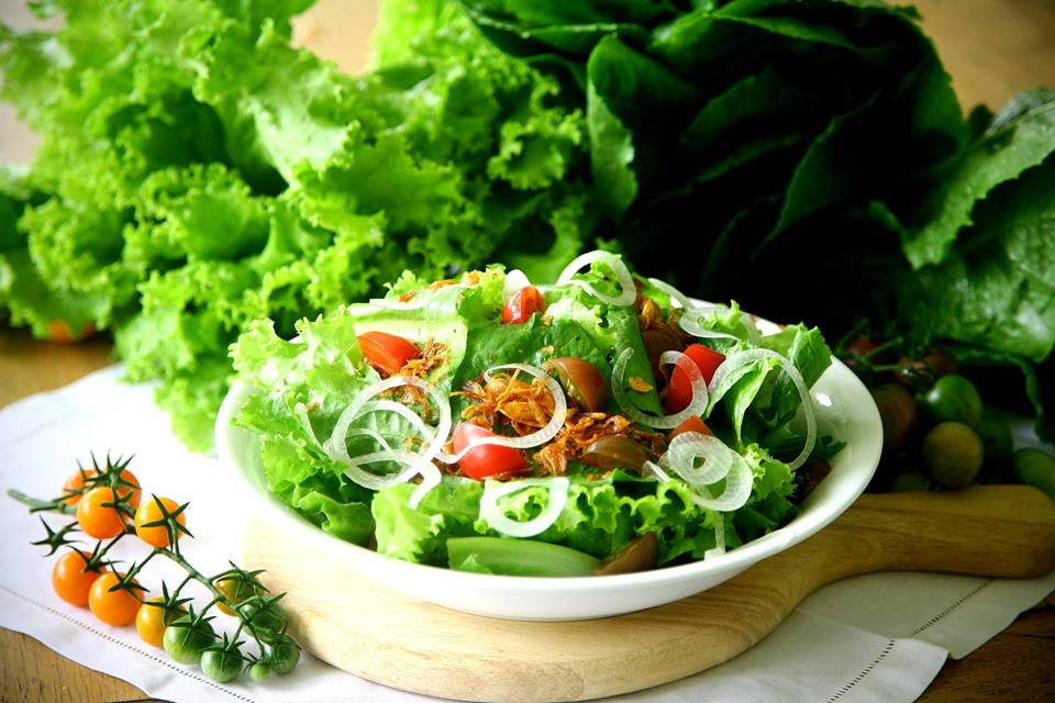 salad of Binh An Village Resort Dalat